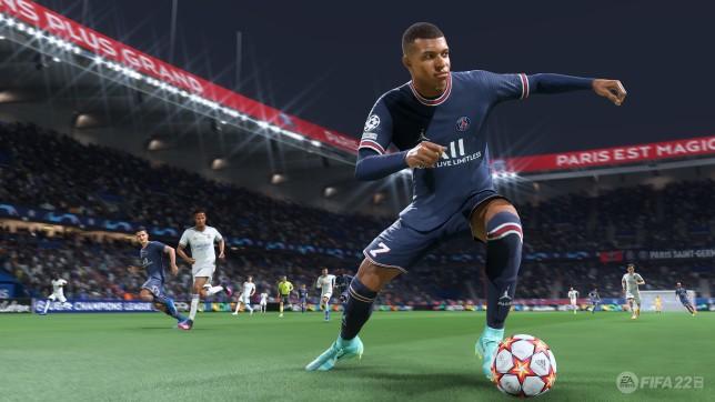 Fifa 22 Mbappe PS5 Xbox Series X screenshot