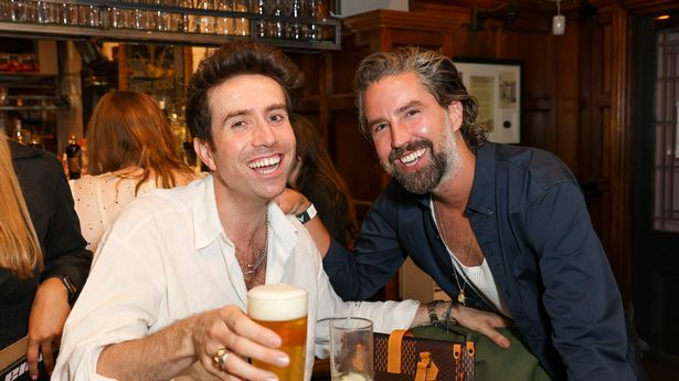 Nick Grimshaw and Jack Guinness
