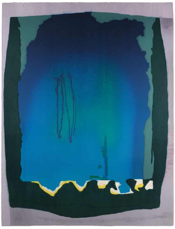 Freefall, 1993 by Helen Frankenthaler.