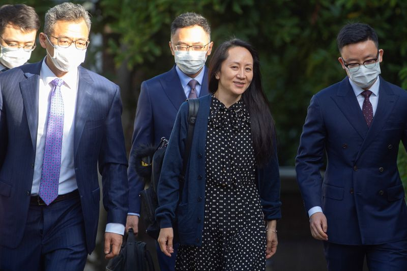 Huawei CFO strikes deal with U.S. over fraud charges, allowing her to return to China