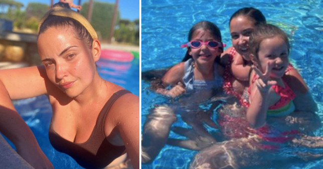 Jacqueline Jossa reveals 'crazy' airport experience trying to dash home from Portugal before travel rules kick in credit:@jacjossa