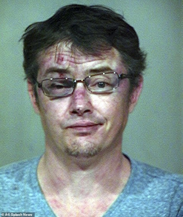 Bad night: Actor Jason London of Dazed and Confused fame has been arrested in Ocean Springs, Mississippi on Tuesday; seen here in a 2013 mugshot