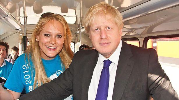 Boris Johnson with Jennifer Arcuri when he was mayor of London