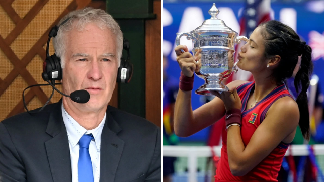 John McEnroe stands by Emma Raducanu comments after stunning US Open victory