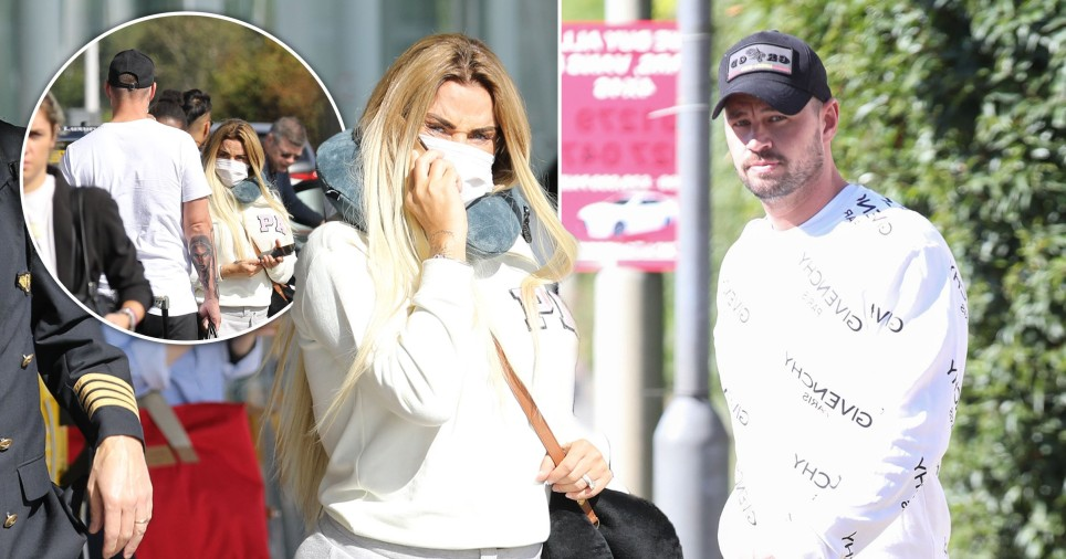 Katie Price and Carl Woods seen together