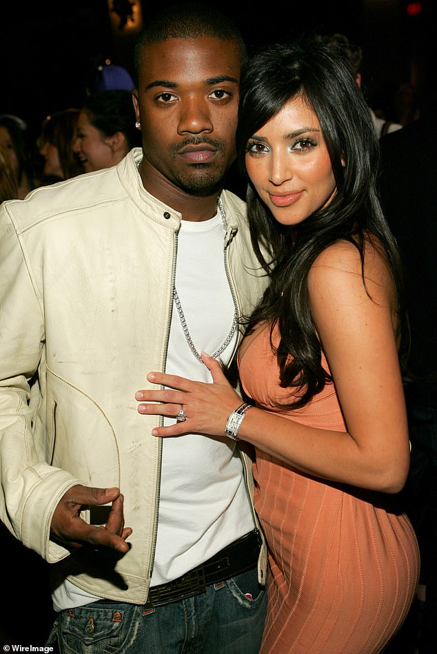 'Unequivocally false':Kim Kardashian's lawyer has denied the existence of an unreleased sex tape after Wack 100 claimed to possess graphic video of the reality star with her ex-boyfriend Ray J; pictured 2006