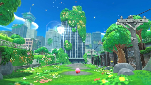 Kirby And The Forgotten Land screenshot