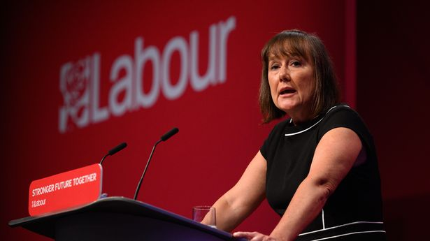 Labour's Jo Stevens speaking at the Labour Party conference in Brighton