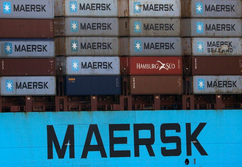 Maersk CEO sees no sign of freight market easing this year
