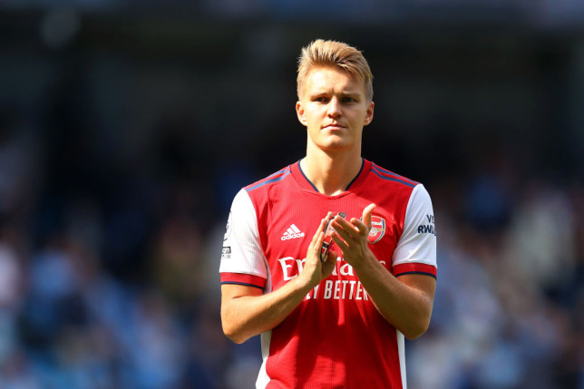 Odegaard wants to win the Premier League with Arsenal 'within a couple of years.'