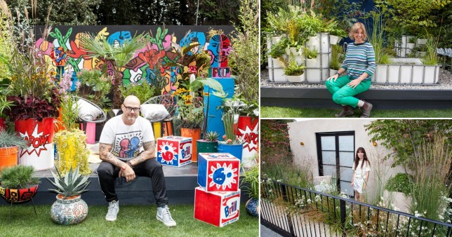 Meet the garden designers who entered extra small categories at the Chelsea Flower Show