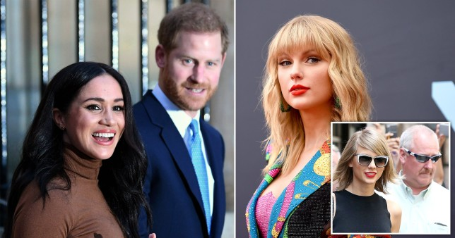 Prince Harry Meghan Markle and Taylor Swift