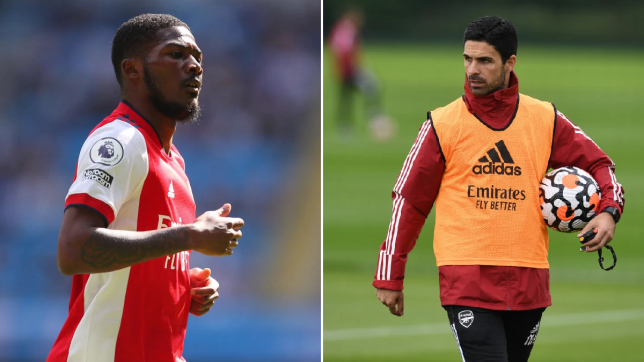 Mikel Arteta wants Ainsley Maitland-Niles to be part of his first team squad this season.