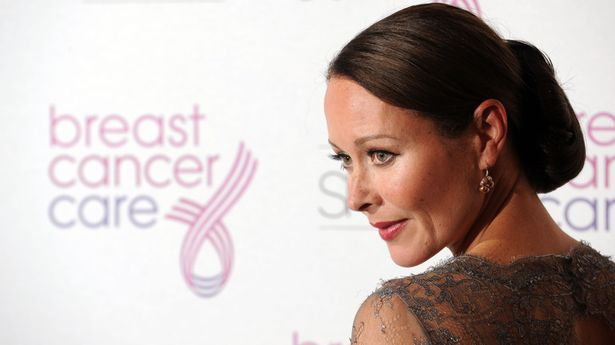 Actress Amanda Mealing was diagnosed with breast cancer in 2002