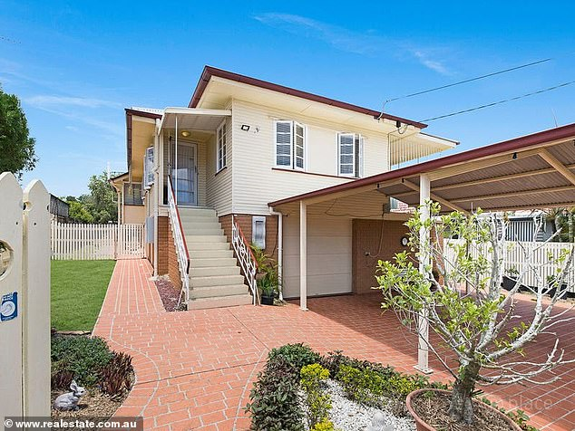 On the market: SAS Australia star and model Erin Holland has put her Brisbane investment property up for rent