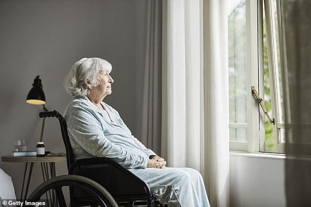Nursing home residents are being given antipsychotics drugs that could potentially be dangerous in order to cover up staffing shortages in some facilities (file image)