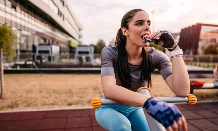Protein bar sales to women have suddenly taken off.