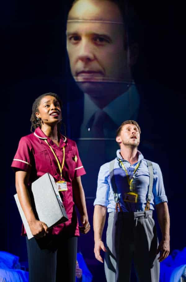 A cameo for Matt Hancock … NHS the Musical.