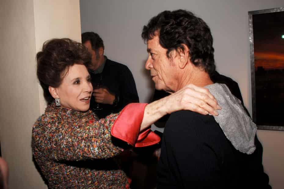Adams with Lou Reed in 2006. 'For all its problems, [New York] is still the capital of the world.'
