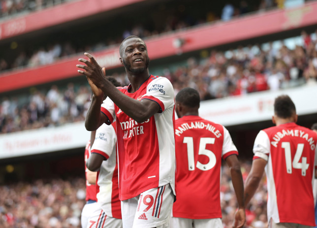 Nicolas Pepe deleted his Instagram post after Arsenal's win over Norwich City