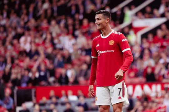 Ronaldo started against Newcastle on Saturday.