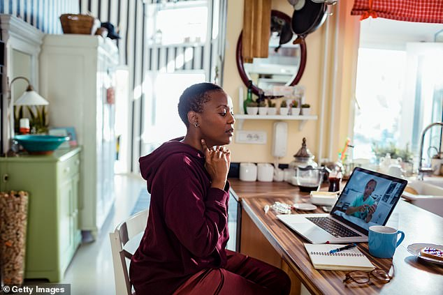 Black patients and those from other disadvantaged communities were less likely to use telemedicine during the pandemic, a new study shows