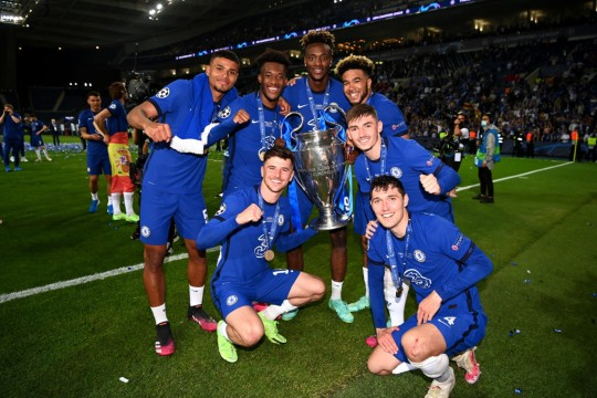 Merson has hailed Chelsea's youngsters and in particular Mason Mount