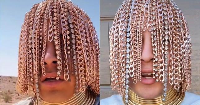 Rapper Dan Sur and his 'golden hair