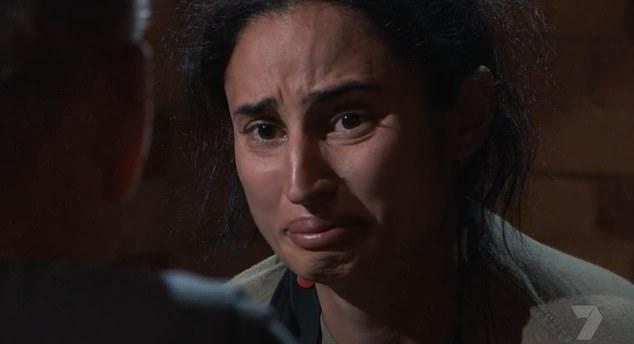 Devastating admission:Athlete Jessica Peris revealed the devastating moment she attempted to take her own life on Wednesday night's episode of SAS Australia