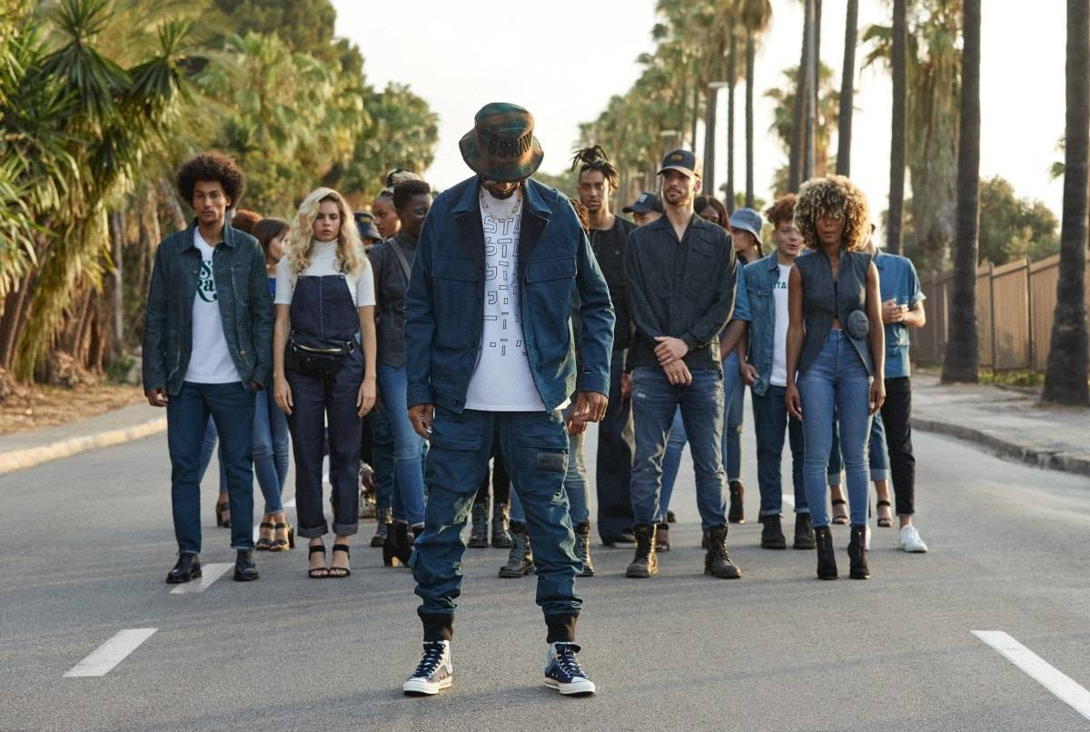 Snoop Dogg is the new face of G-Star RAW