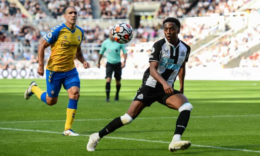 Joe Willock was the only summer arrival in Steve Bruce's first-team squad.