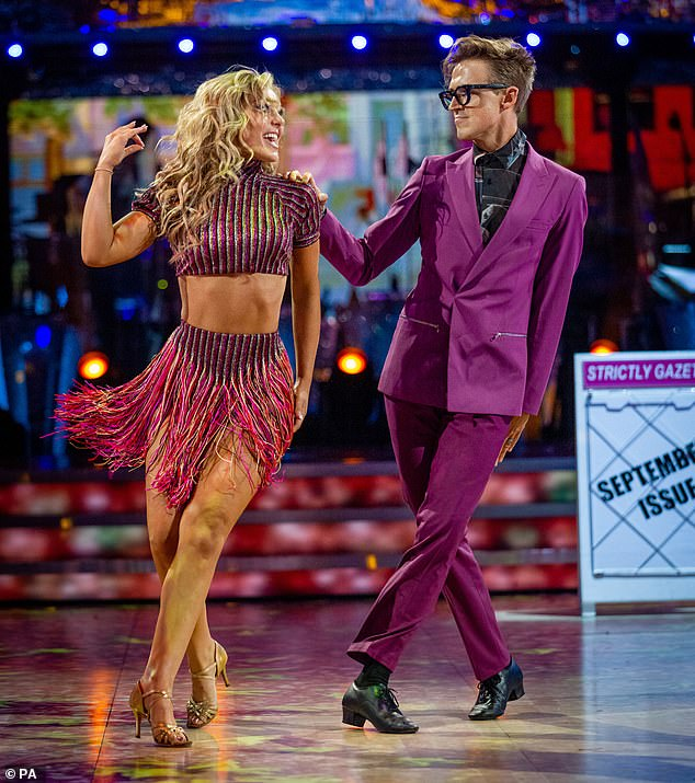 Shock:Strictly Come Dancing stars Tom Fletcher and Amy Dowden will miss next Saturday's instalment of the show after testing positive for COVID-19