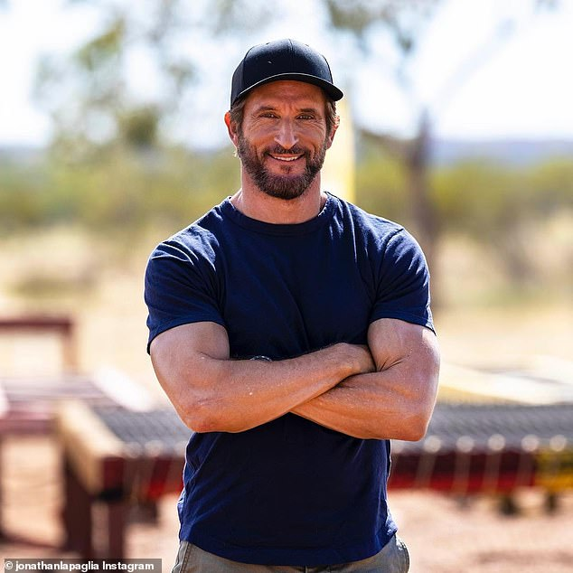Us too?The American edition of Survivor has banned the term, 'Come on in guys'. Could the Australian version do the same? Pictured: Australian Survivor host Jonathan LaPaglia