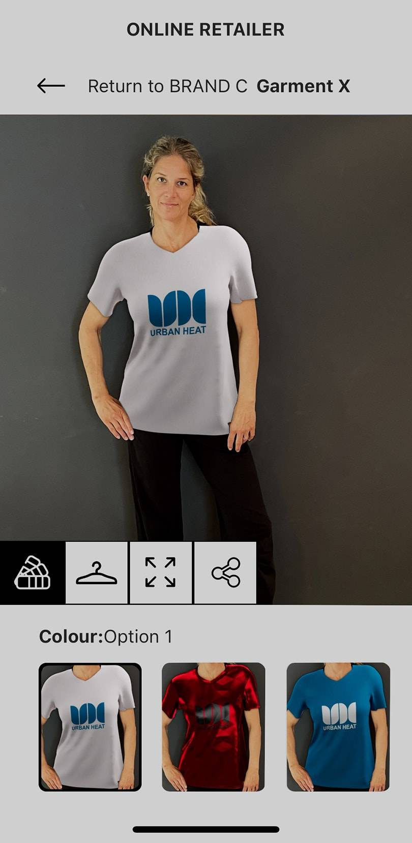 The potential to revolutionize the fashion and e-commerce industry-the first version of an app for virtual fitting from the Munich Startup URBAN HEAT