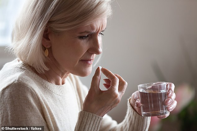 While some patients certainly do say they benefit from being prescribed antidepressants, the overprescribing of the drugs to people who don't need them is now a major concern in the UK [File photo]