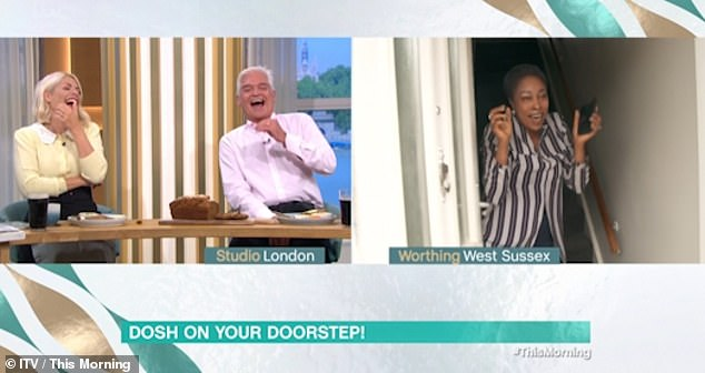 Surprise!This Morning viewers were left in hysterics on Thursday after watching a competition winner's reaction to Alison Hammond arriving on her doorstep