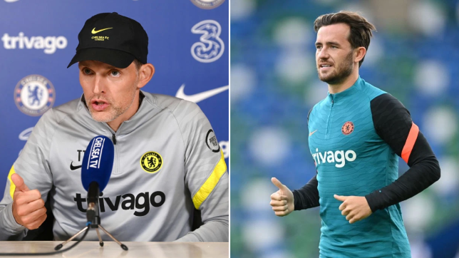 Tuchel has opted for Marcos Alonso at left wing-back this season.