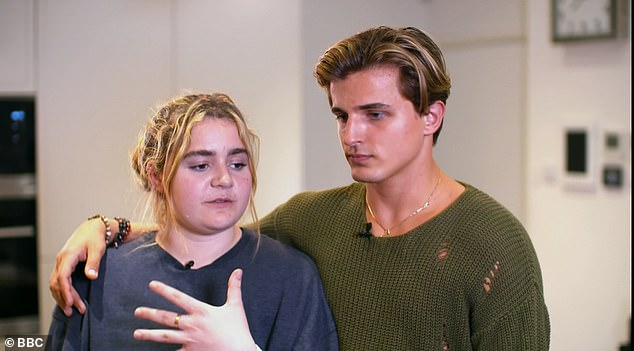 Close:Tilly Ramsay and her Strictly partner Nikita Kuzmin have been getting on like a house on fire off-camera, it would seem - with the pro spotted at the student's London flat on Thursday evening