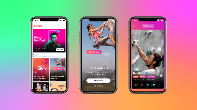 Tinder adds new features to give you more control over who