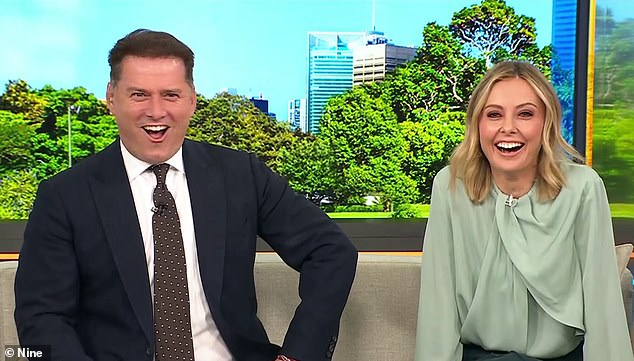 Winners are grinners!Today has defeated morning show rival Sunrise for the first time in three years. Today pulled in 248,000 metro viewers, while Sunrise lagged behind with 237,000