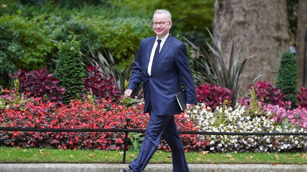Top Tory Michael Gove was promoted in the recent reshuffle