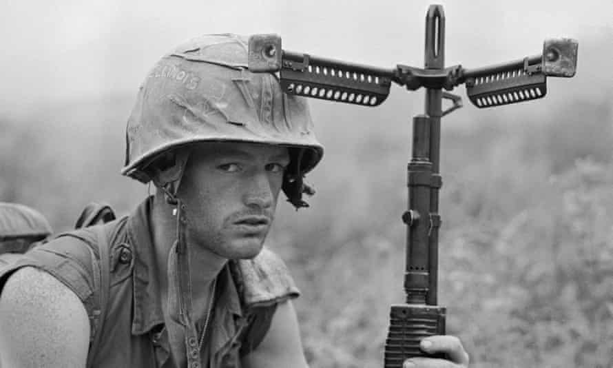 A US Soldier in Vietnam … Van der Kolk began his professional career working with men who had fought there.
