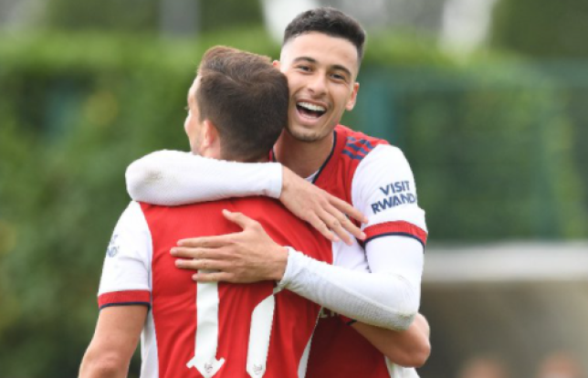 Arsenal faced Brentford in a behind closed doors friendly on Thursday