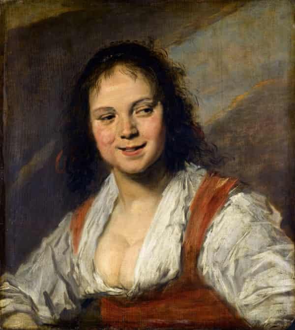Gypsy Girl (La Bohémienne) by Frans Hal