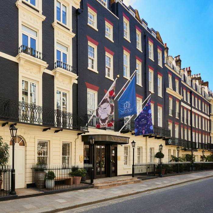 Made up of 15 Georgian buildings, The Mayfair Townhouse runs along one side of Half Moon Street
