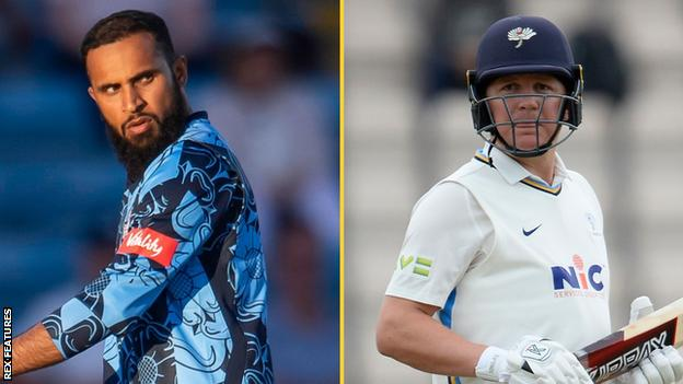 Adil Rashid (left) is set to join England's T20 squad following the IPL season while Gary Ballance finished the season strongly for Yorkshire