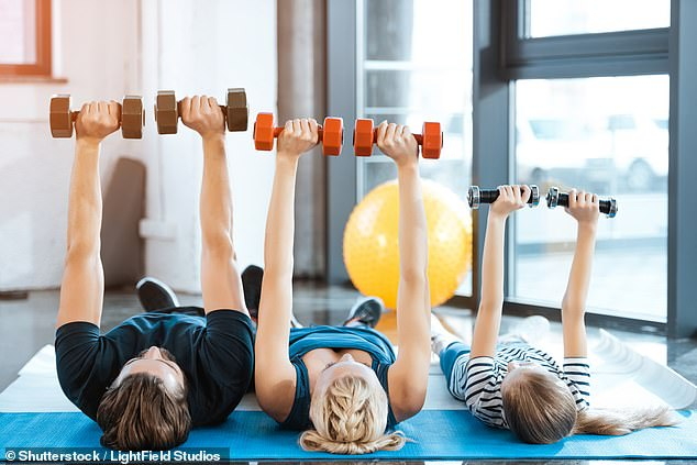 It is possible to be ¿fat but fit¿ ¿ people simply need to focus on exercise rather than dieting to live longer, experts now claim (stock image)