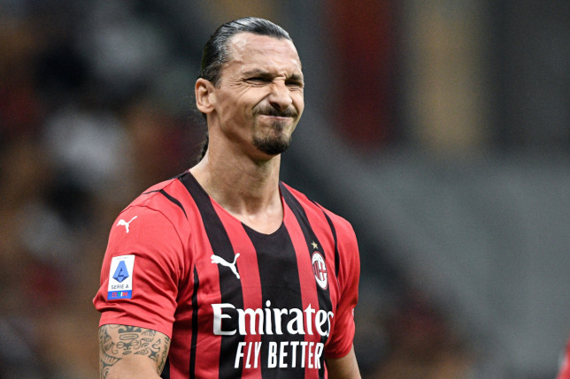 Zlatan Ibrahimovic will miss the match against Liverpool due to an Achilles injury