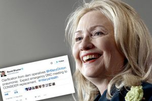 hillary-clinton-and-a-tweet-suggesting-she-could-be-replaced-as-presidential-candidate-544859