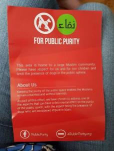 muslims-demand-locals-dont-walk-dogs-in-public